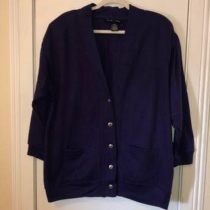 Carrea size Med. purple jacket